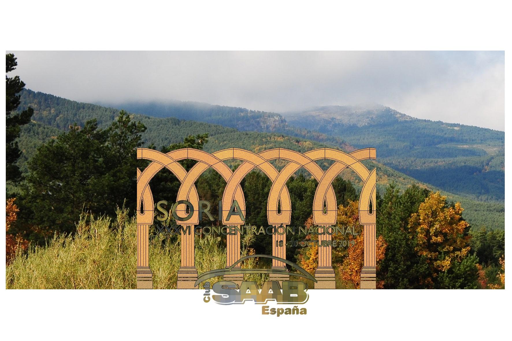 XXXVI Concentración Nacional. Soria. Del 18 al 20 de octubre de 2019