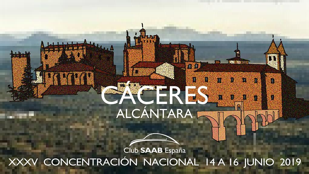 XXXV Concentración Nacional. Alcántara, Caceres. Del 14 al 16 de Junio de 2019